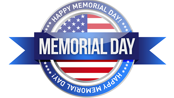 Have a wonderful Memorial Day.